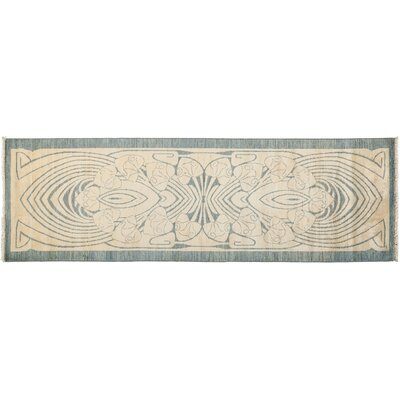 One-of-a-Kind Shalimar Hand-Knotted Beige Area Rug