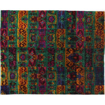 Shalimar Hand-Knotted Multicolor Area Rug