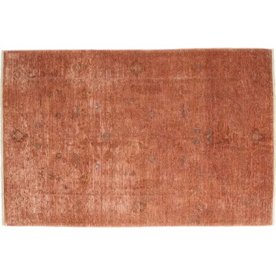 Vibrance Hand-Knotted Orange Area Rug
