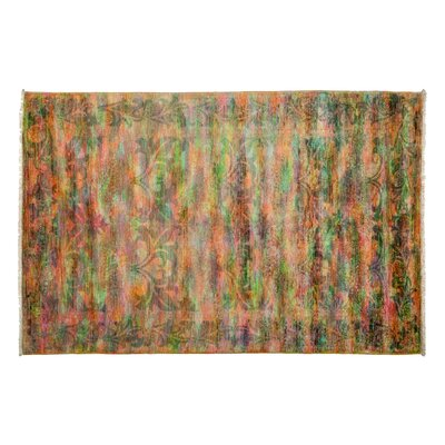 Vibrance Hand-Knotted Multicolor Area Rug