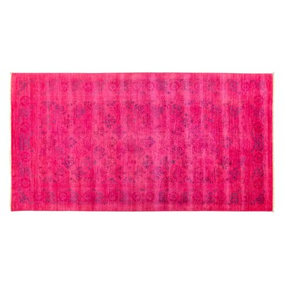 Vibrance Hand-Knotted Pink Area Rug