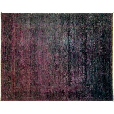 Vibrance Hand-Knotted Purple Area Rug