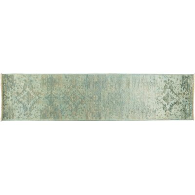 Vibrance Hand-Knotted Blue Area Rug