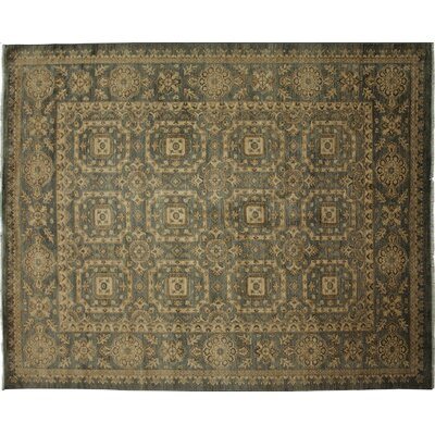 One-of-a-Kind Ziegler Hand-Knotted Beige Area Rug
