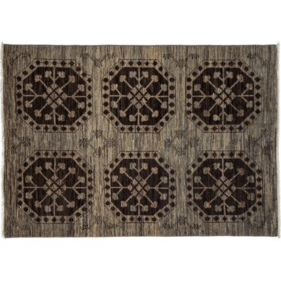 One-of-a-Kind Ziegler Hand-Knotted Gray Area Rug