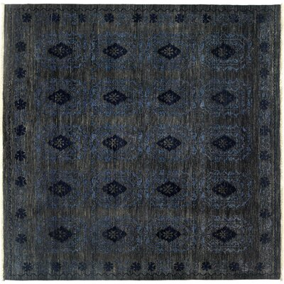 Ziegler Hand-Knotted Gray Area Rug