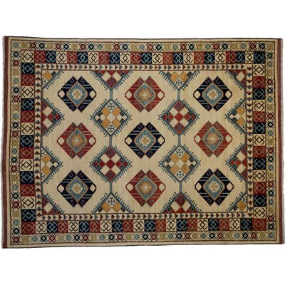 Ziegler Hand-Knotted Multicolor Area Rug