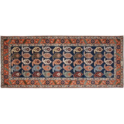 Ziegler Hand-Knotted Blue Area Rug