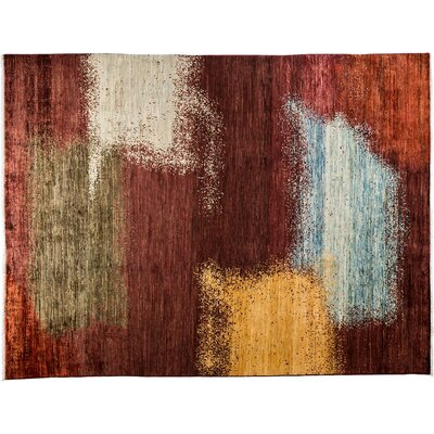 One-of-a-Kind Ziegler Hand-Knotted Multicolor Area Rug