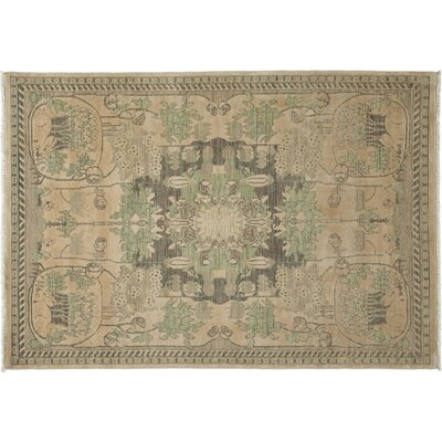 Shalimar Hand-Knotted Ivory Area Rug