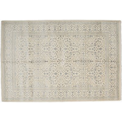 One-of-a-Kind Shalimar Hand-Knotted Ivory Area Rug