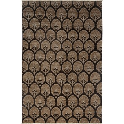 One-of-a-Kind Ziegler Hand-Knotted Brown Area Rug Rug Size: Rectangle 65 x 99