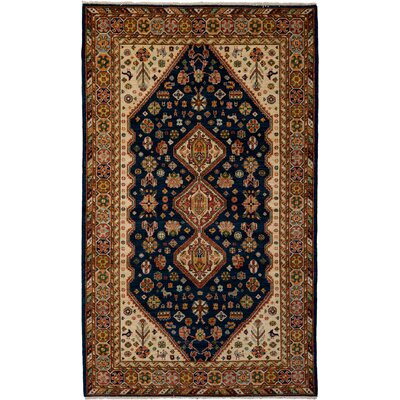 One-of-a-Kind Ziegler Hand-Knotted Multicolor Area Rug Rug Size: Rectangle 410 x 81