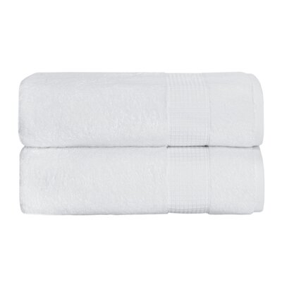 Super Soft Bath Towel Color: White