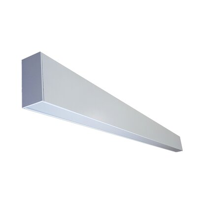 Direct Linear LED Pendant Light Size: 4 H x 2 W x 96 L