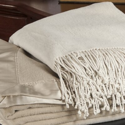 Aus Vio Mulberry Silk Fleece Throw Blanket