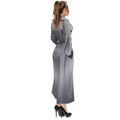 Silk Bathrobe Size: Large / Extra Large