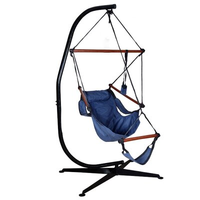 Algrenon Solid C Frame Steel Hammock Chair Stand