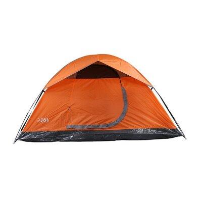 Glades 4-Person Tent Color: Orange/Titanium