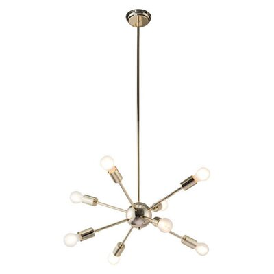Ursa 8 Light Sputnik Chandelier