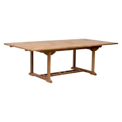 Superb-quality Extendable Teak Dining Table Product Photo