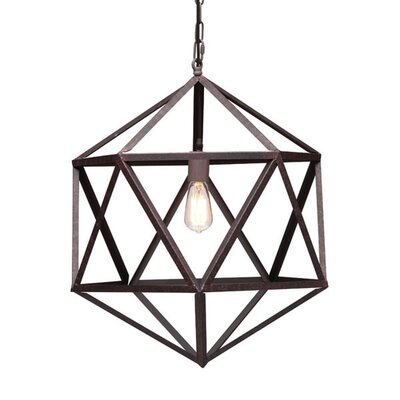 Feinberg 1-Light Geometric Pendant
