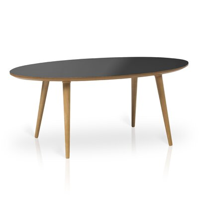 Conie Coffee Table Top Finish: Black