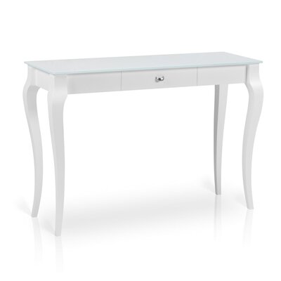Bresso Console Table Finish: White