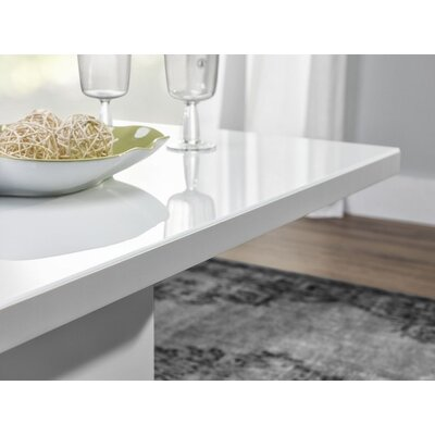 Devona Glass Top Coffee Table
