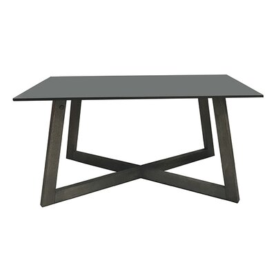 Dobbs Rectangular Coffee Table Color: Black