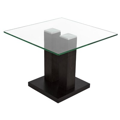 Devondra Square Glass Top Coffee Table