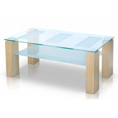 Alyson Glass Top Coffee Table