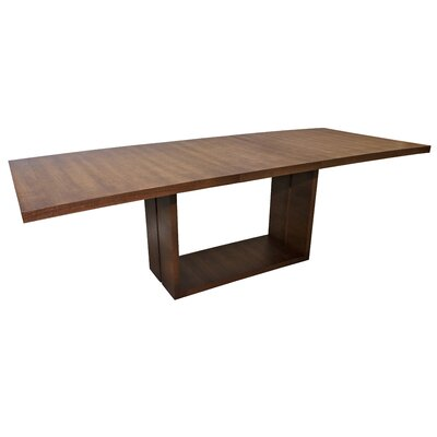 Hockensmith Wood Extendable Dining Table