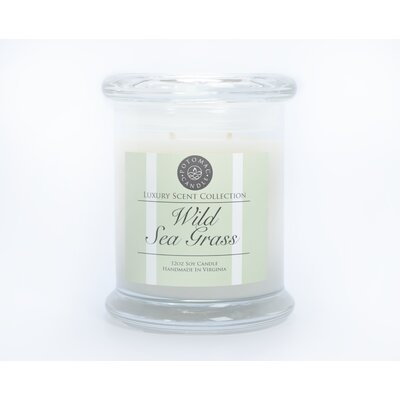 Wild Sea Grass Soy Scented Jar Candle WSSLS3