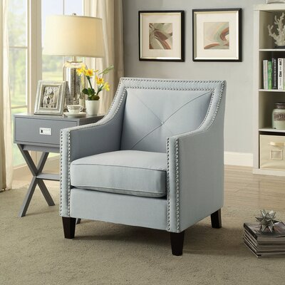Mckinley Armchair Upholstery: Light Gray