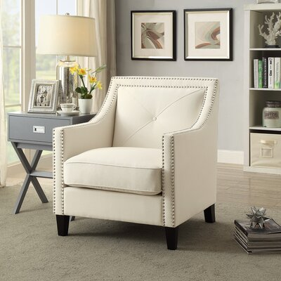 Mckinley Armchair Upholstery: Beige