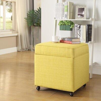 Michael Ottoman Upholstery: Yellow