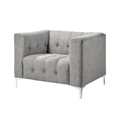 Seurat Armchair Upholstery: Light Gray