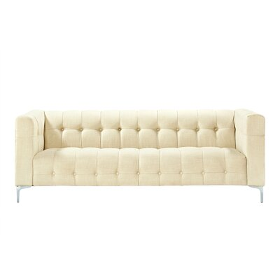 Seurat Tufted Sofa Upholstery: Beige