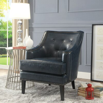 Peabody Armchair Upholstery: Blue