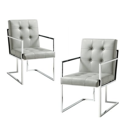 Bellamy Chrome Arm chair