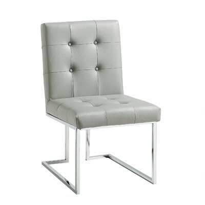 Bellamy Chrome Side Chair