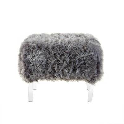Bosarge Ottoman Upholstery: Gray