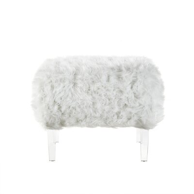 Bosarge Ottoman Upholstery: White