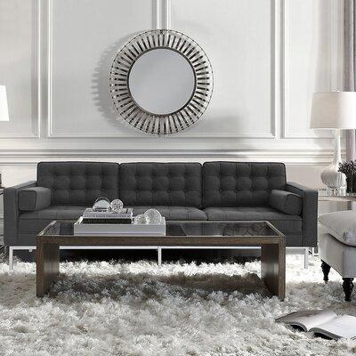 Abinash Sofa Upholstery: Gray
