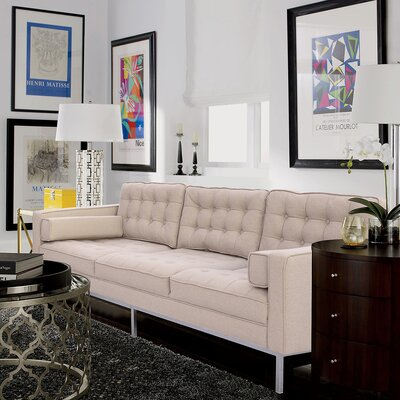 Abinash Sofa Upholstery: Taupe