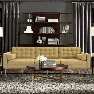 Abinash Sofa Upholstery: Yellow