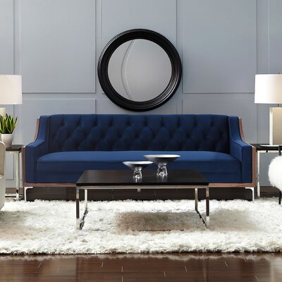 Crouse Sofa Upholstery: Navy