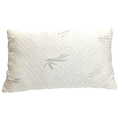 Shredded Memory Foam Pillow Size: Queen