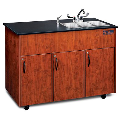 Ozark River Portable Sinks Advantage 3 Finish: Cherry